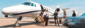 Videovigilancia integrada en aeropuertos ejecutivos garantizada con almacenamiento de alta capacidad