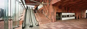 Azkoyen suministra el sistema de control de accesos al museo MAS de Amberes