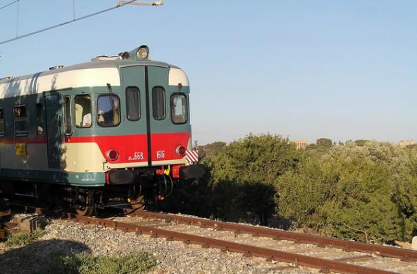 Sony en ferrocarril de Milan