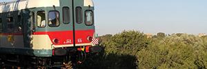 Las cámaras de seguridad de Sony ayudan a evitar el vandalismo en las líneas ferroviarias italianas