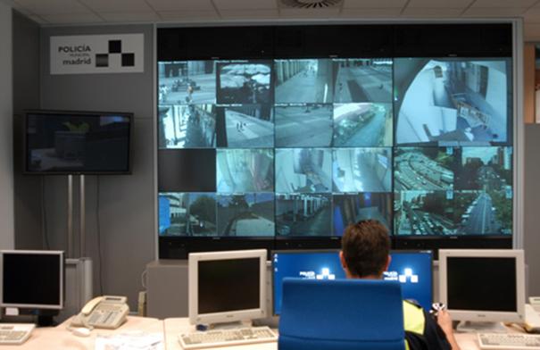 Центр управления полиции Мадрида