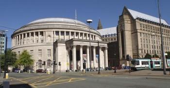 Манчестер Grade II перечисленных расширение ратуши