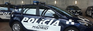 La Policía Municipal de Madrid equipa sus coches patrulla con cámaras de videovigilancia en red
