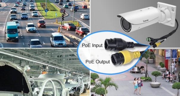 Vivotek camaras con extensor PoE integrado IB8367R IB8367RT IB8338HR