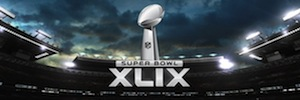 Phoenix Stadium cento protegge le vostre nuove telecamere di sicurezza IP Avigilon per Super Bowl XLIX