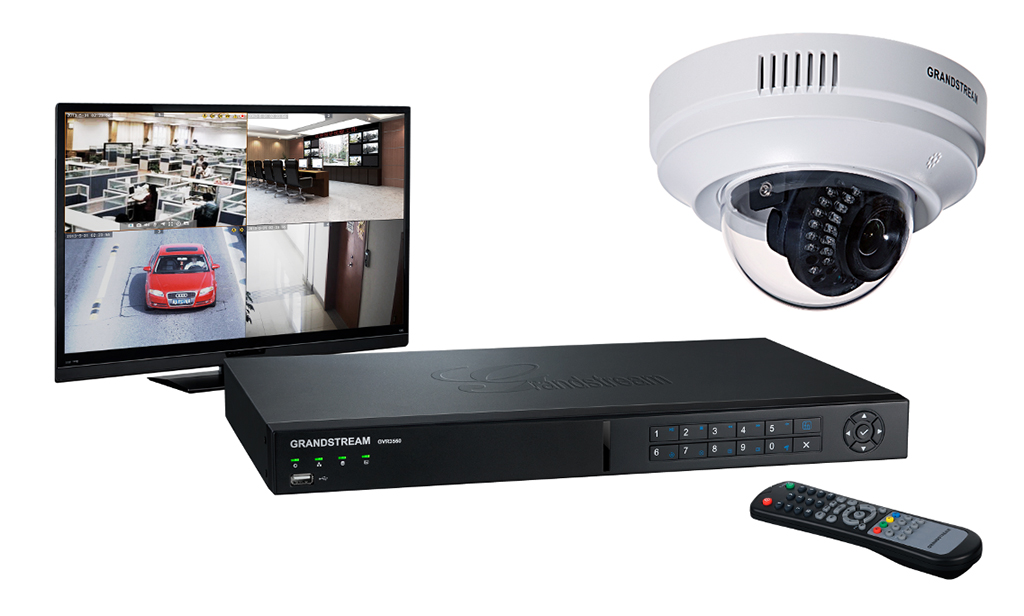 Grandstream GXV3611IR_HD: indoor dome camera equipped with