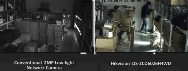 Hikvision DarkFighter DS-2CD6026FHWD