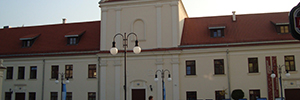 The Cultural Center of Lublin ensures its seventeenth-century building with Vivotek cameras
