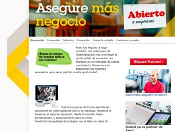 Axis microsite pymes