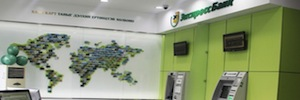 Khan Bank guarantees the security of its network of branches and ATMs with Vivotek IP cameras