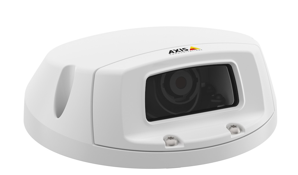 Axis p3905 re flexible network video surveillance for for Interior home security cameras