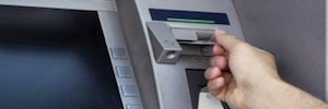 Hidden cameras protect the network Lilin ATM of a bank in Taiwan