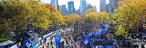 Sony, Milestone y Virsig securizan la Maratón de Nueva York