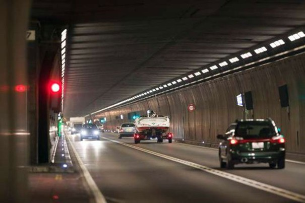 Videovigilancia tunel