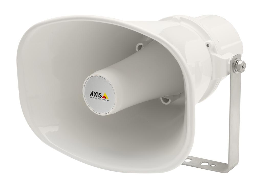 Axis c3003 e piattaforma aperta di altoparlante ip per la - Redes para colgar altavoces ...