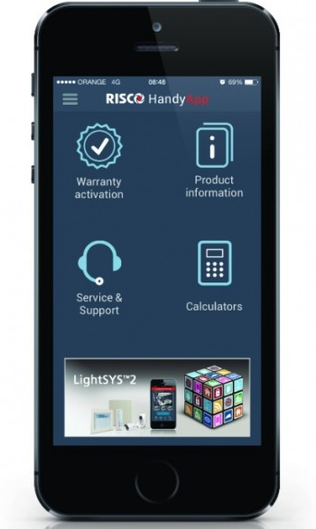 Risco Group HandyApp