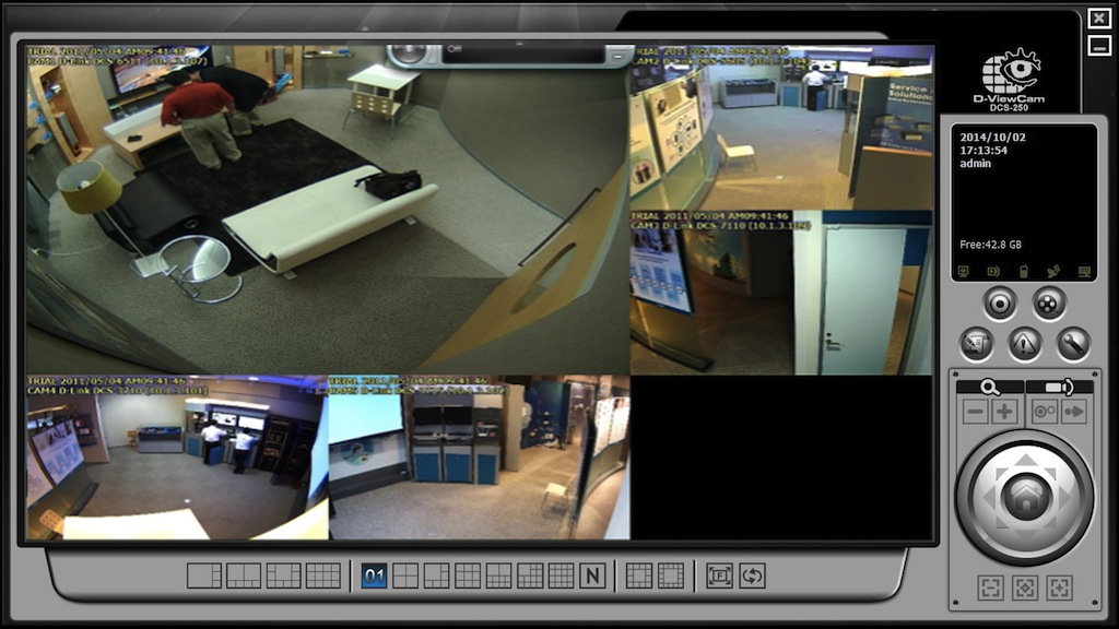 D link viewcam plus visualizaci n multicanal y grabaci n - Camaras de vigilancia con grabacion ...