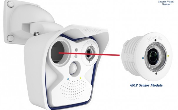 Mobotix sensor Moonlight 6MP