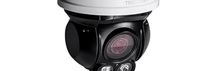 TRENDnet TV-IP430PI: cámara domo PTZ outdoor de 2MP con visión nocturna