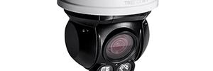 TRENDnet テレビ-IP430PI: ナイト ビジョン 200万画素屋外 PTZ ドームカメラ
