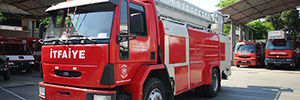 Istanbul firefighters are committed to Vivotek IP surveillance of their trucks
