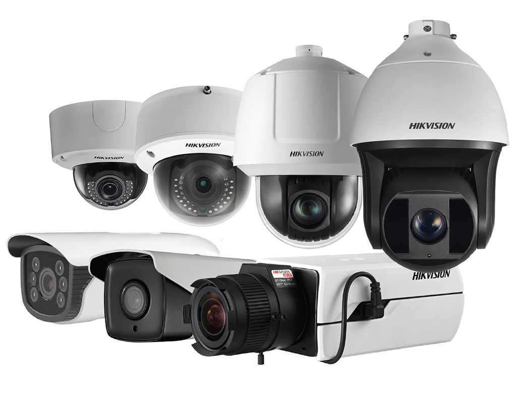 Smart IP Hikvision LightFighter cameras for intense lighting