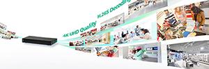Nexcom NViS 1410: reproductor de vídeo 4K para aplicaciones de videovigilancia en pymes