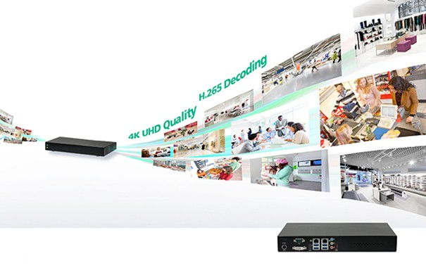Nexcom NViS 1410: video player 4K for video surveillance