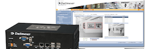 DVS 800 IPS: appliance of Dallmeier video for up to four channels IP analysis