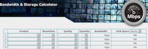 AirLive: Calculadora de largura de banda e armazenamento no projeto de vídeo-vigilância IP