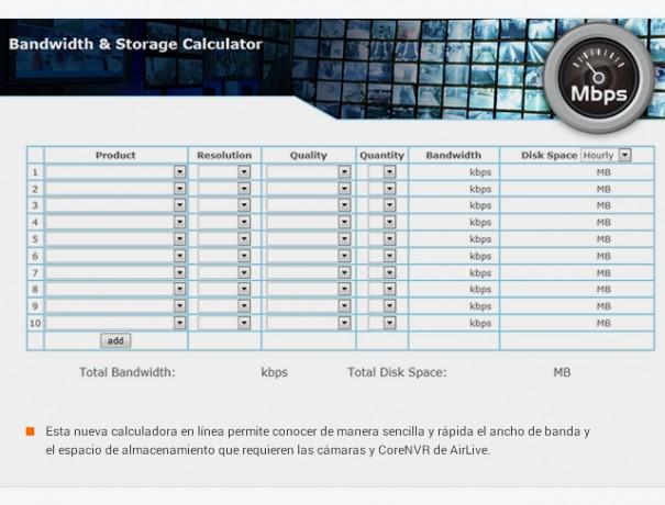 OvisLink AirLive calculadora