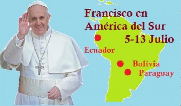 Papa Francisco Latinoamerica2015