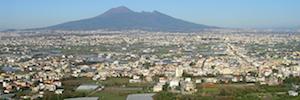 Итальянские города San Antonio, уменьшению усиливает свою безопасность с камерами Axis