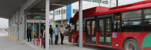 Indra will manage the network of public buses in Monterrey and will optimize your safety