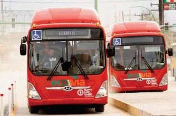 ECOVIA bus Monterrey