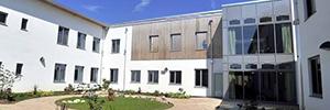 El centro de salud mental NHS Foundation Trust crea un entorno seguro con un sistema de videovigilancia IP
