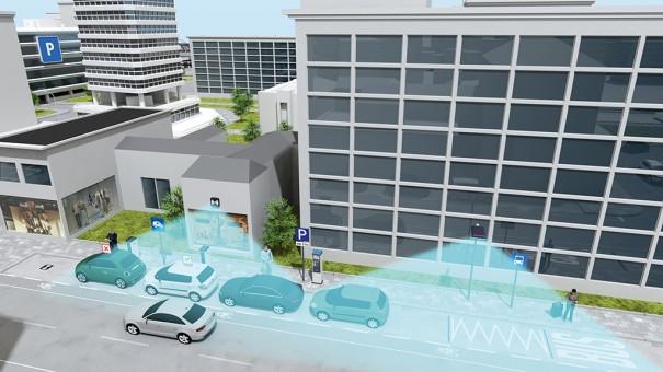 Siemens Smart parking Berlin