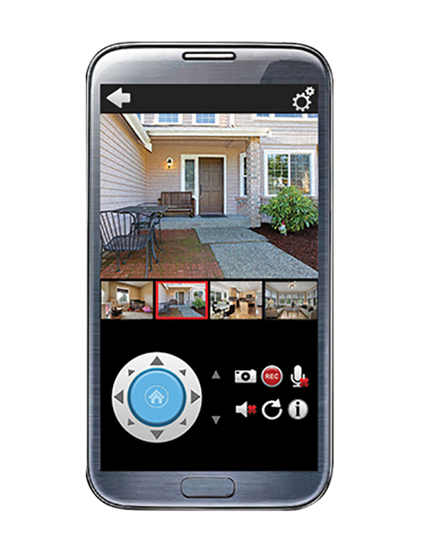 application surveillance video android