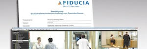 Dallmeier SMAVIA Viewing Client passes the test Fiducia IT security for use in banks