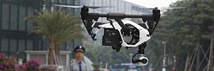 DJI перепланирует свои беспилотники, чтобы предотвратить летать над чувствительных областях