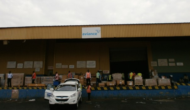Hikvision аэропорт Гана Скайлинкс