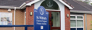 The English Academy St Wilfrid's return to bet by Panasonic to expand its security