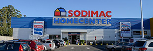 Sodimac returns to bet on the IP video surveillance from Axis to its store of Uruguay