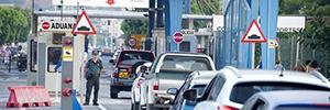Atos ayuda a la Guardia Civil a controlar el paso fronterizo de vehículos