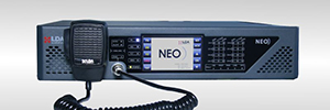 The voice alarm system is certified LDA NEO IN 54-16