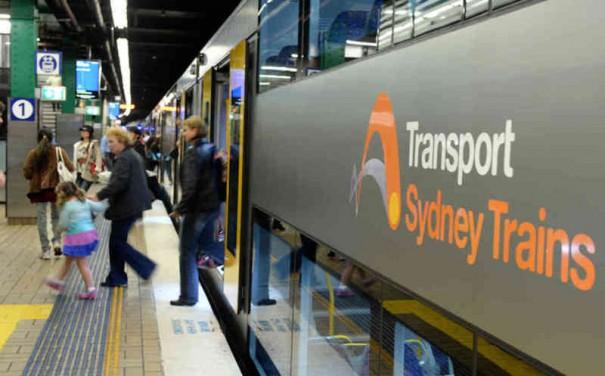 Image Dan Himbrechts Sydney Trains
