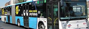 La EMT de Málaga y Orange instalan un sistema de videovigilancia y telemetría en el transporte urbano de la ciudad