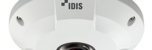 The Idis camera IDOM Fish Eye provides a complete view in 360 °