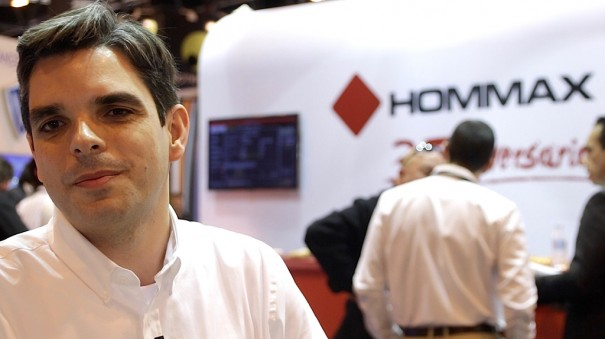 Hommax SICUR 2016 Diego Tronchoni, director adjunto