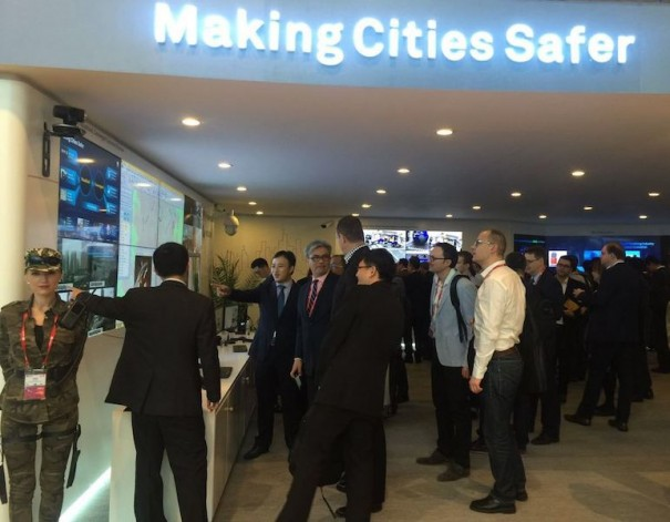 Huawei Safe City MWC2016